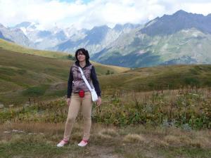 В горах Сванетии, Грузия 2015