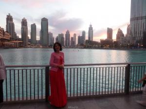 У поющих фонтанов, Дубай 2016