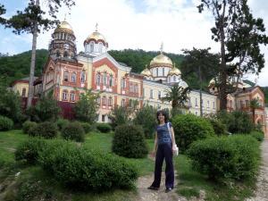 Новый Афон, Абхазия, май 2014